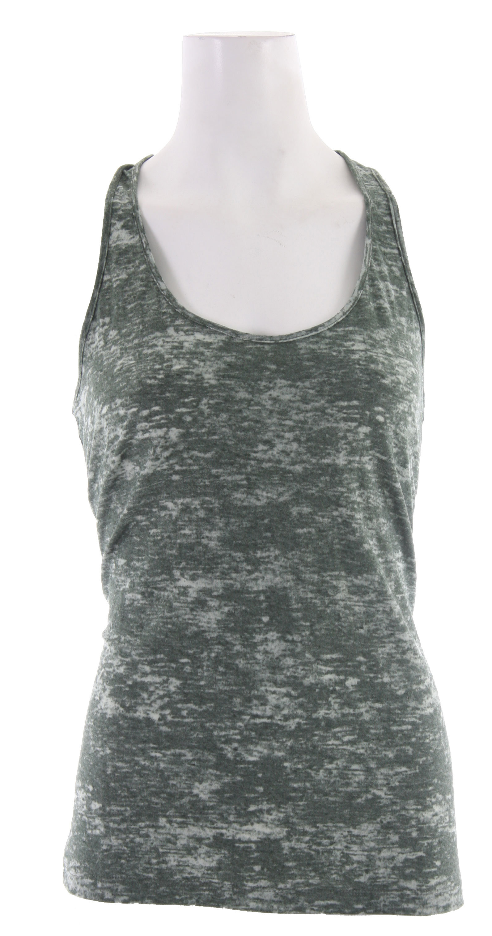 Surf Key Features of the Volcom Moclov Twist Back Tank Top: 50% Polyester / 50% Cotton Jersey, 115gm. - $15.95