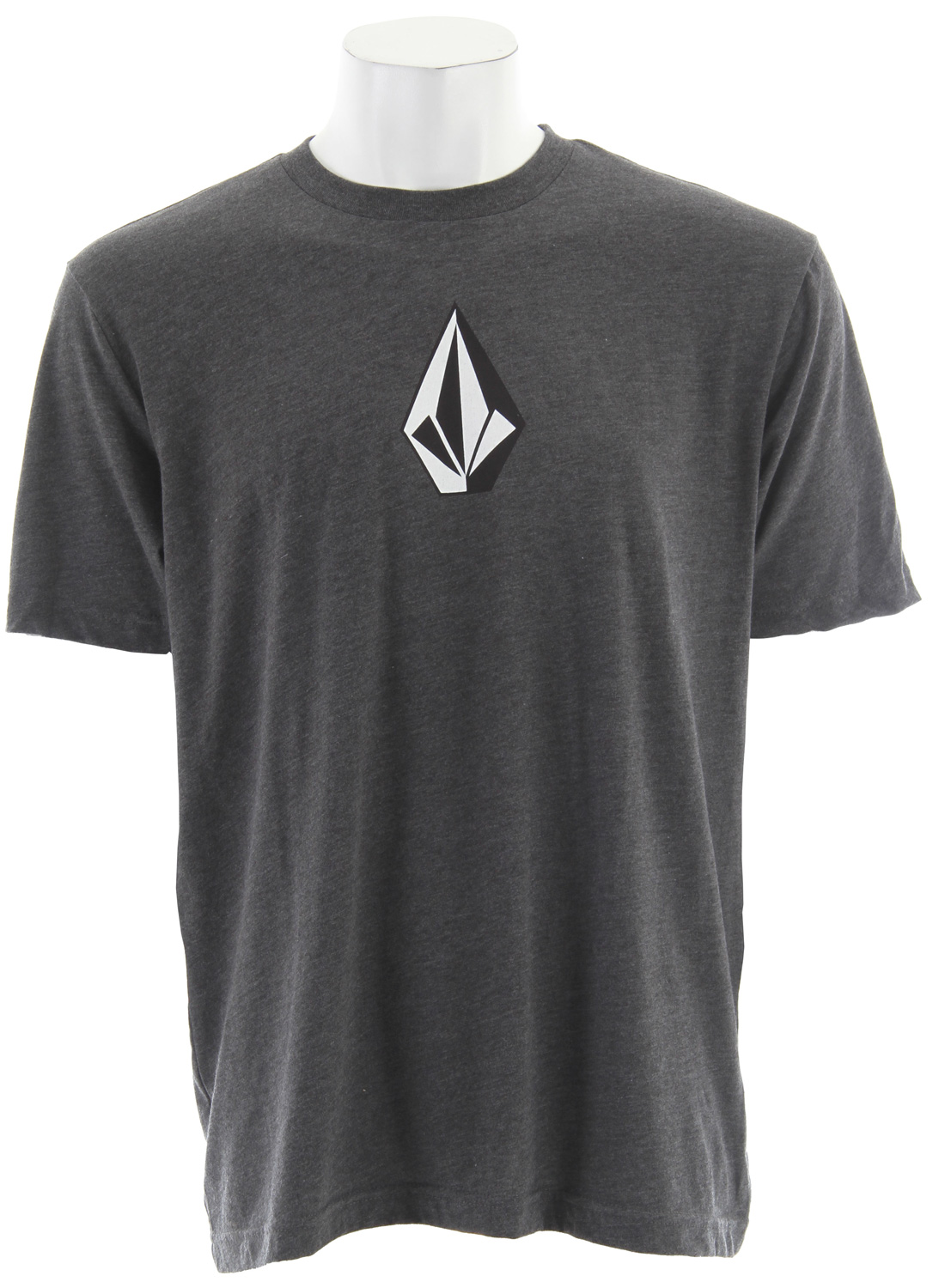 Surf Key Features of The Volcom The Stone Three Heather T-Shirt:  Regular Fit  Crew Neck  Short Sleeve  Basic screenprint  50/50 Cotton/Poly jersey - $18.95