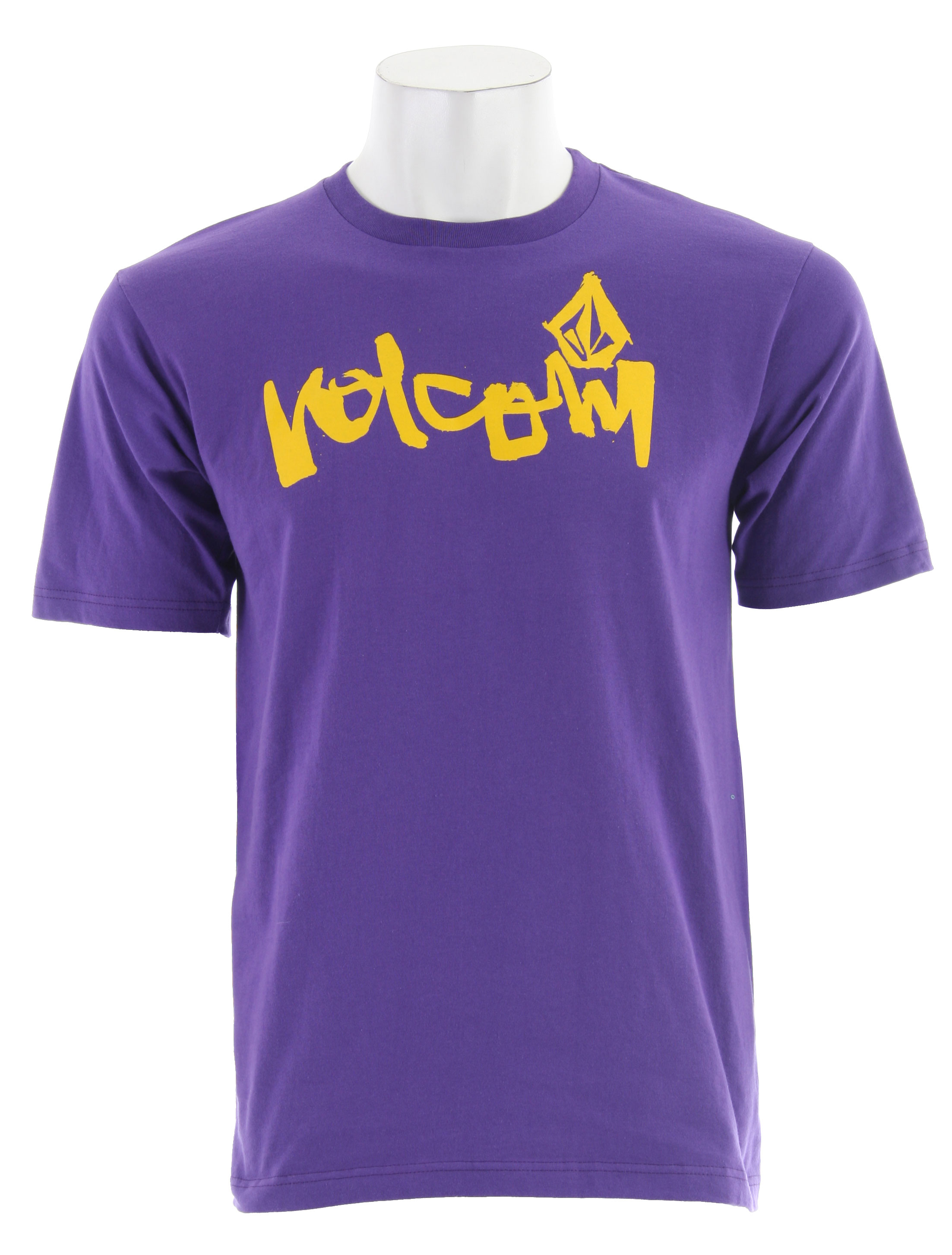 Surf Key Features of the Volcom Taggerd S/S T-Shirt: Basic Screen Print 100% Cotton - $19.95