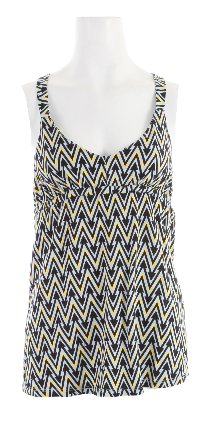Surf Volcom Treats Cami Tank Top Blue Grey - $18.95
