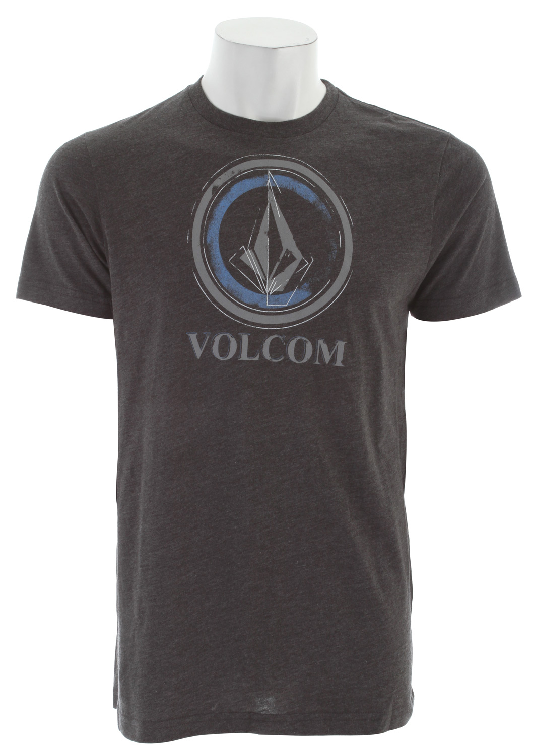 Surf Key Features of The Volcom Circle Stain T-Shirt: Regular Fit Crew Neck Short Sleeve Basic screenprint Modern fit 50% cotton/50% polyester - $17.95