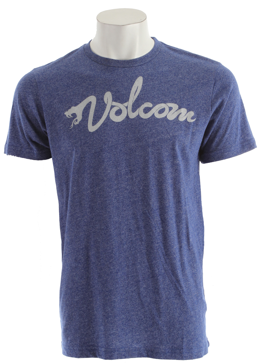 Surf Key Features of the Volcom White Script T-Shirt: Basic screenprint Modern fit 50% cotton/50% polyester - $25.00