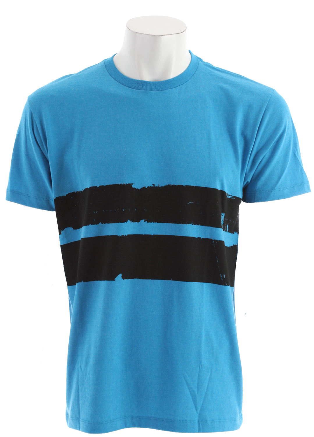 Surf Key Features of the Volcom Electro Stripe T-Shirt: Basic Screenprint Basic Fit 60% cotton/40% polyester - $12.95