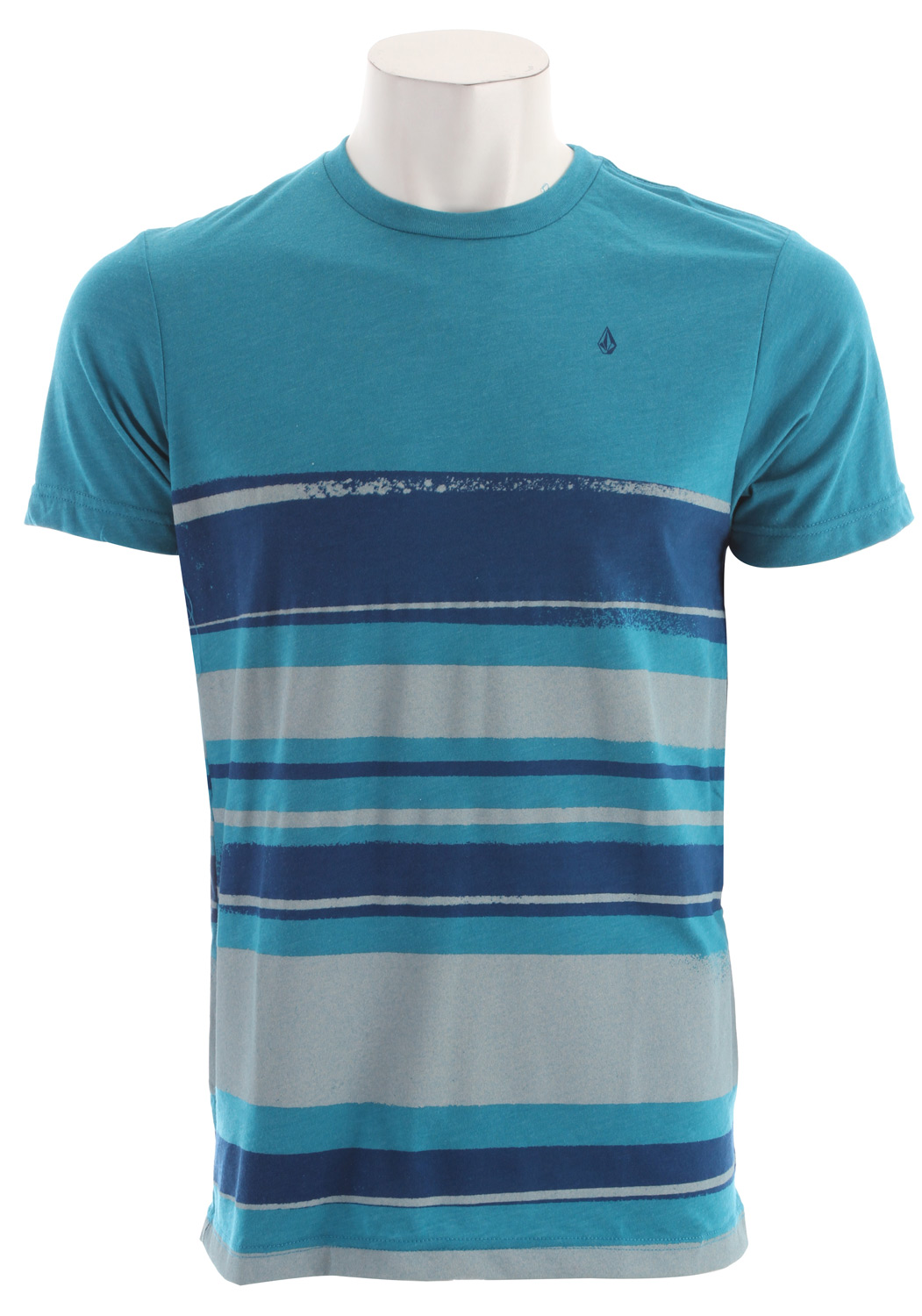 Surf Anything but ordinary, the striped Drab tee transforms your no style into whoa style. 50% cotton/50% polyester - $28.95