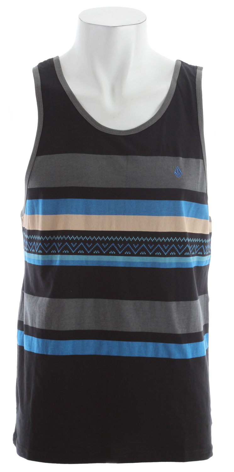 Surf You want your look to slay it? The Seafarer stripe tank knows how to say it. Sure, its method is subtle, but its message is serious: When it comes to style you don't mess around. 100% cotton - $16.95