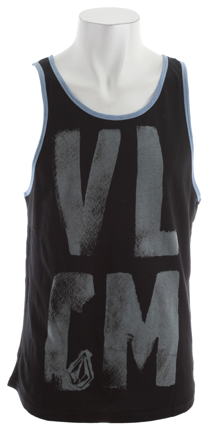Entertainment VLCM stands for one Very Lucky and Cool Mother. Or at least it could considering this is the signature tank for team surfer Clay Marzo. You may not be living the insanely good life yet, but at least now you can dress the part. 100% cotton - $16.95