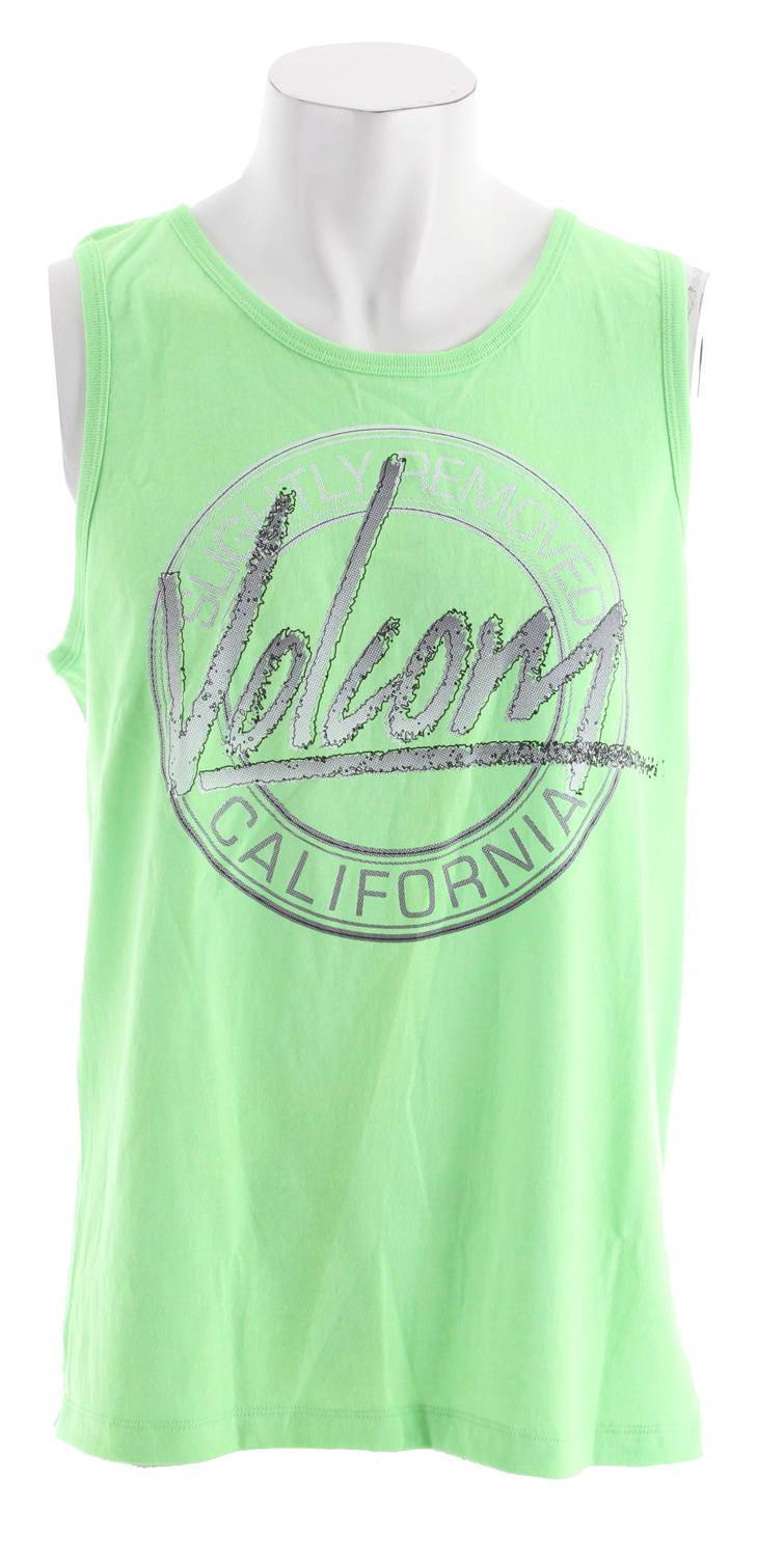 Surf Key Features of the Volcom 80s Art Tank: Basic Screenprint Classic Fit 60% cotton/40% polyester - $14.95