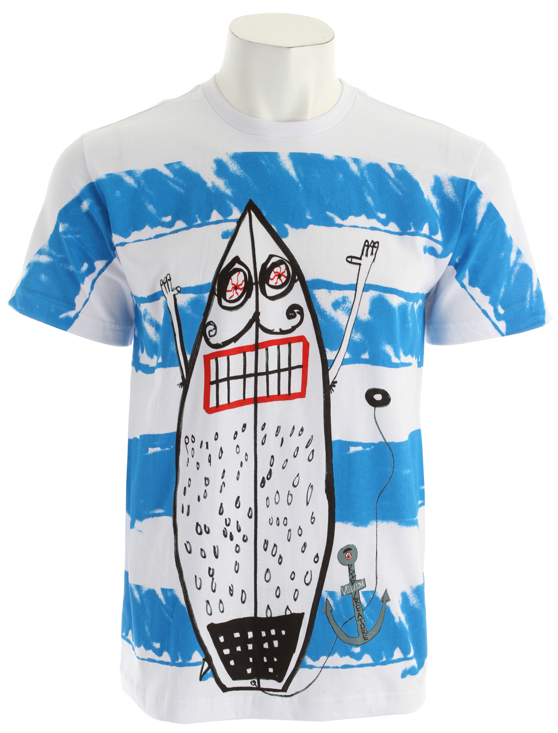 Surf Key Features of The Volcom Kid Creature FA T-Shirt: Regular Fit Crew Neck Short Sleeve Basic screenprint Basic Fit 100% cotton(10% organic blend) - $26.95