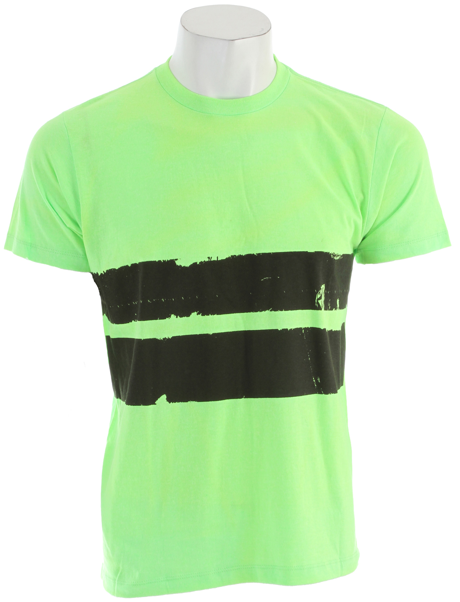 Surf Key Features of the Volcom Electro Stripe T-Shirt: Basic Screenprint Basic Fit 60% Cotton / 40% Polyester - $12.95