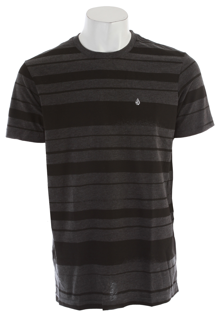 Surf Key Features of the Volcom Tapered T-Shirt: Basic Screenprint Modern Fit 50% Cotton / 50% Polyester - $19.95