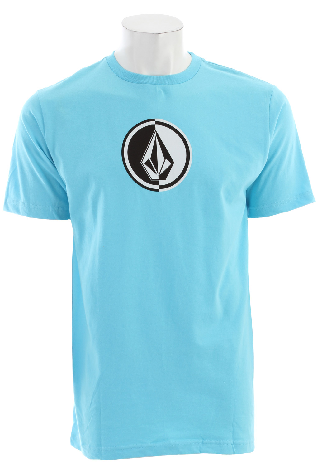 Surf Key Features of the Volcom Circle Stone T-Shirt: Basic screenprint Basic fit Solids: 100% Cotton; Heathers: 75% Cotton / 25% Polyester - $20.00