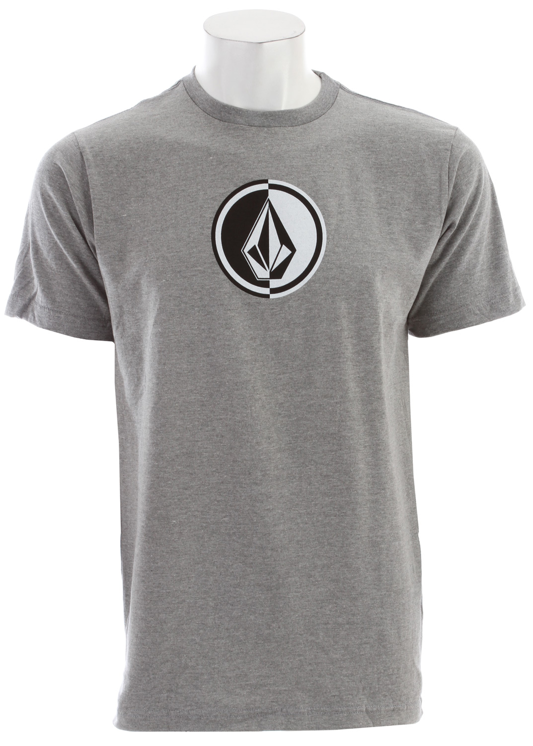 Surf Key Features of the Volcom Circle Stone T-Shirt: Basic Screenprint Basic Fit Solids: 100% Cotton; Heathers: 75% Cotton /25% Polyester - $12.95