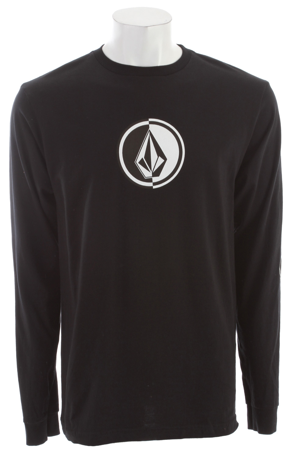 Surf Key Features of the Volcom Circle Stone L/S T-Shirt: Basic screenprint Basic Fit 100% Cotton - $25.00