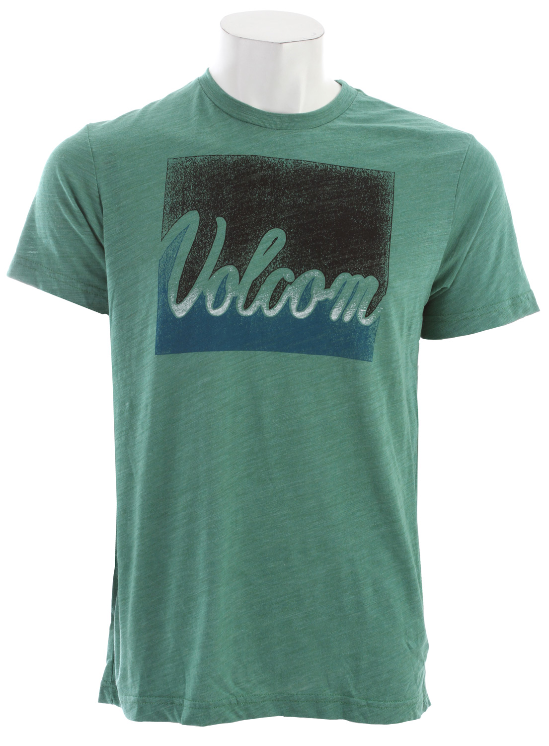 Surf Key Features of the Volcom Leave T-Shirt: Basic Screenprint Modern Fit 50% Polyester / 37% Cotton / 13% Rayon Tri Blend slub - $21.95