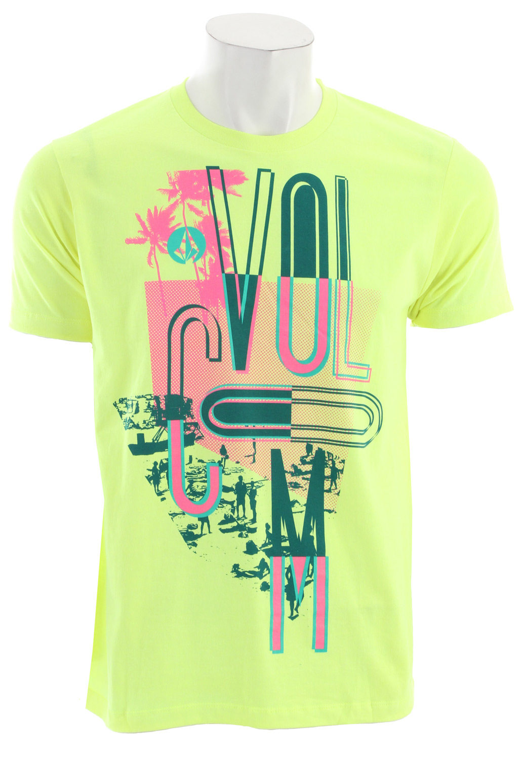Surf Key Features of the Volcom Skadooze T-Shirt: Basic Screenprint Basic Fit 60% Cotton / 40% Polyester - $20.00