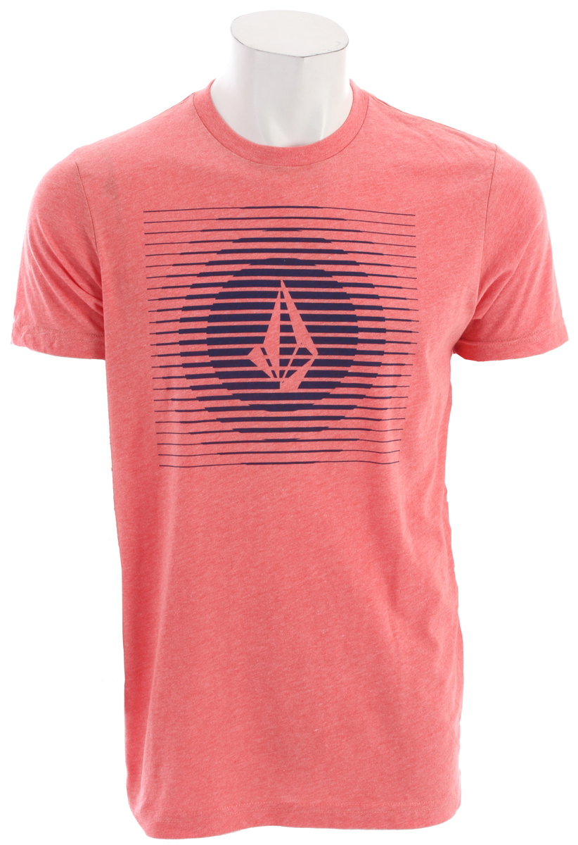 Surf Key Features of the Volcom Opticalill T-Shirt: Basic Screenprint Modern fit 50% Cotton / 50% Polyester - $25.00
