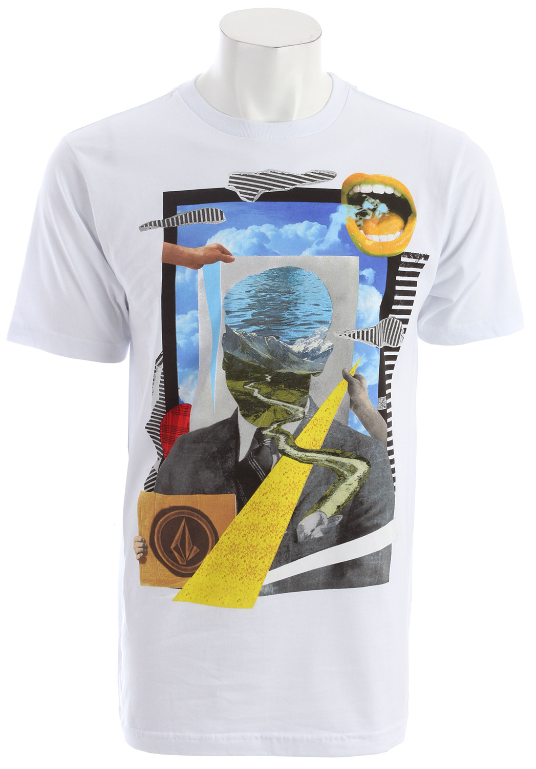 Surf Key Features of the Volcom Cumulistic T-Shirt: Basic screenprint Basic Fit 100% Cotton - $13.95
