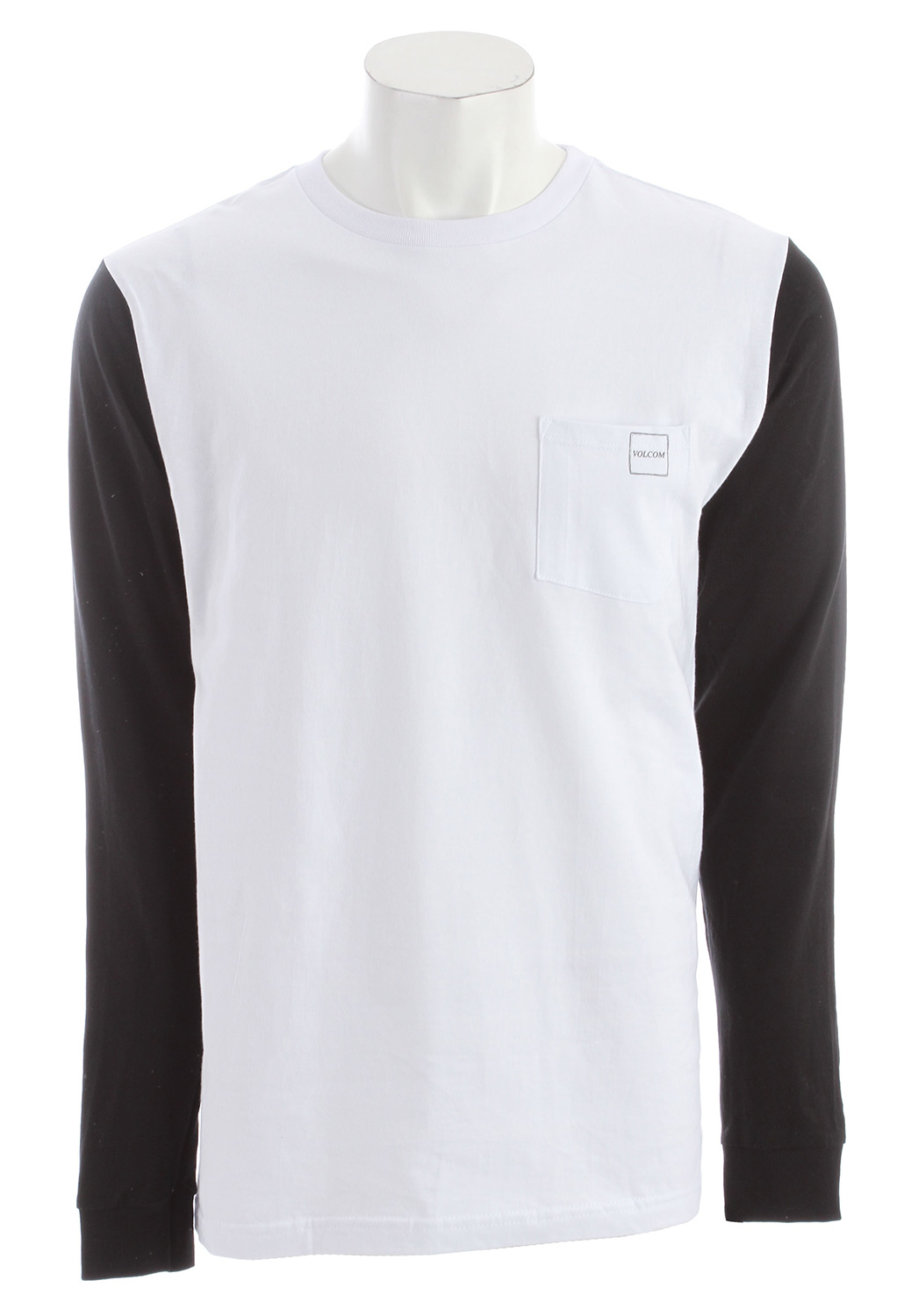 Surf Key Features of the Volcom Heights L/S Pocket T-Shirt: Basic Screenprint Basic Fit 100% Cotton - $21.95