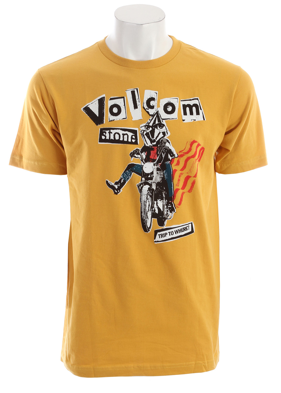Surf Key Features of the Volcom Trip To Nowhere T-Shirt:  Basic screenprint  Basic Fit  100% Cotton - $13.95