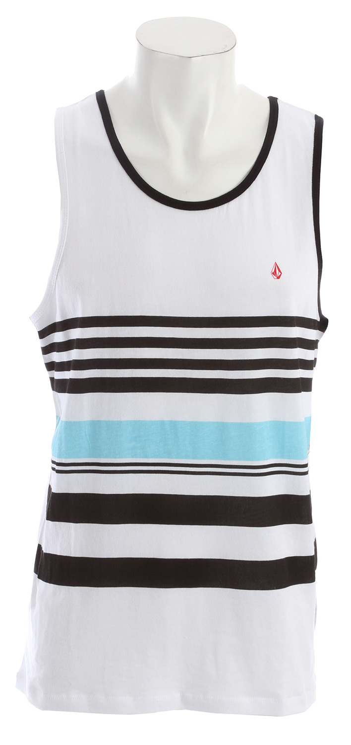 Surf Key Features of the Volcom Think Tank: Basic screenprint Retro Fit 100% Cotton - $25.00