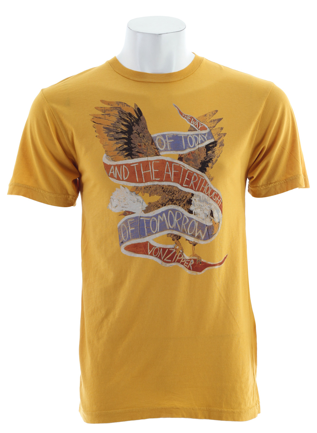 Key Features of The Vonzipper Fly By T-Shirt: Regular Fit Crew Neck Short Sleeve 30/1 Ringspun Jersey - $20.95