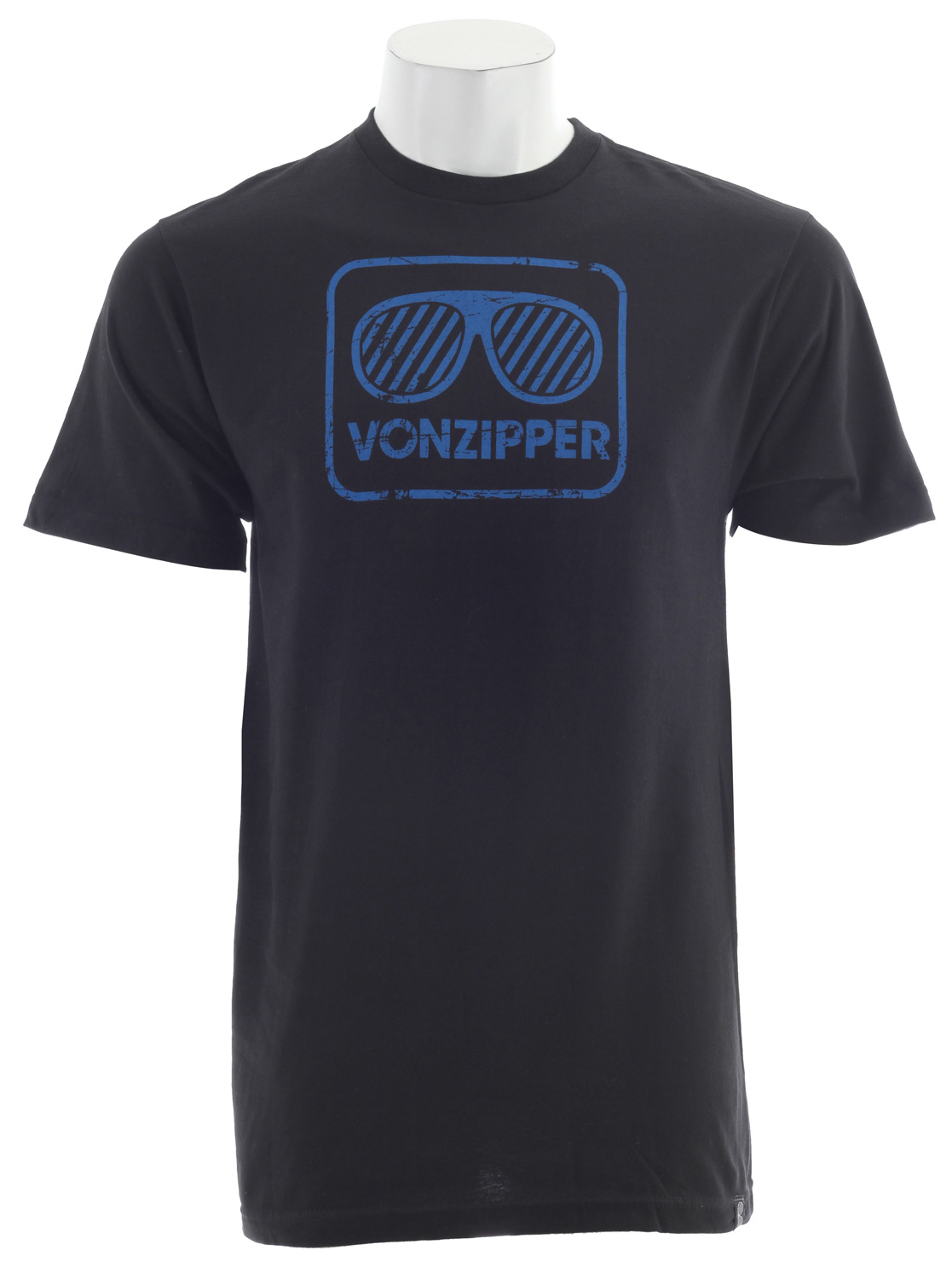 Key Features of The Vonzipper Rockford II T-Shirt: Regular Fit Crew Neck Short Sleeve 20/1 Ringspun Heavy Weight - $19.95
