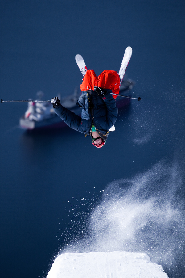 Ski Anders Westrheim, backflip