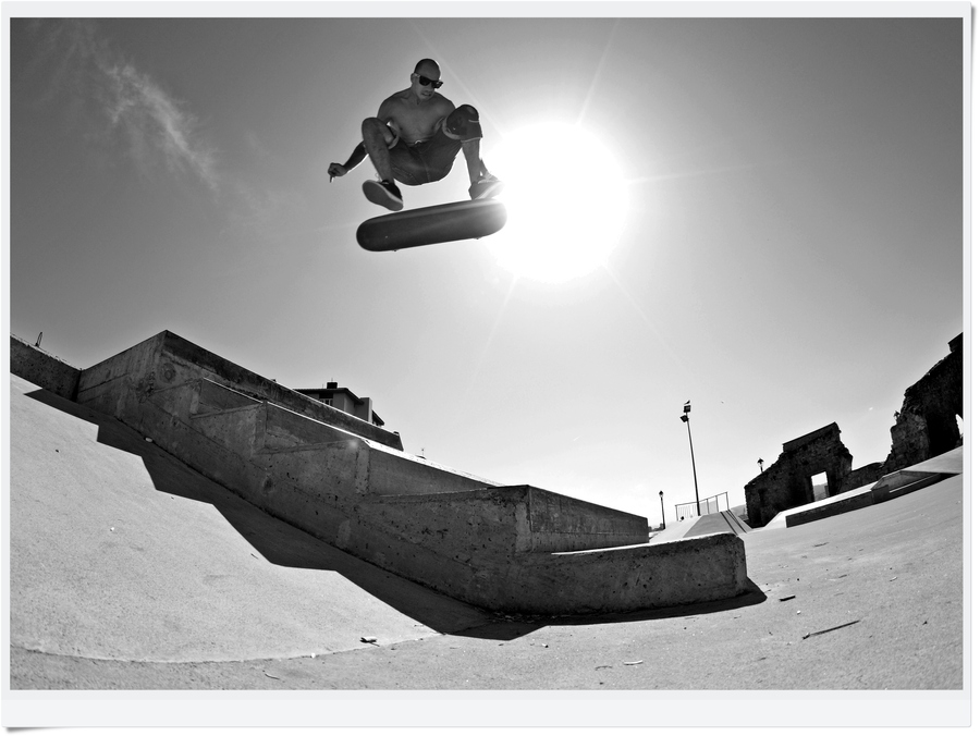 Skateboard epic air