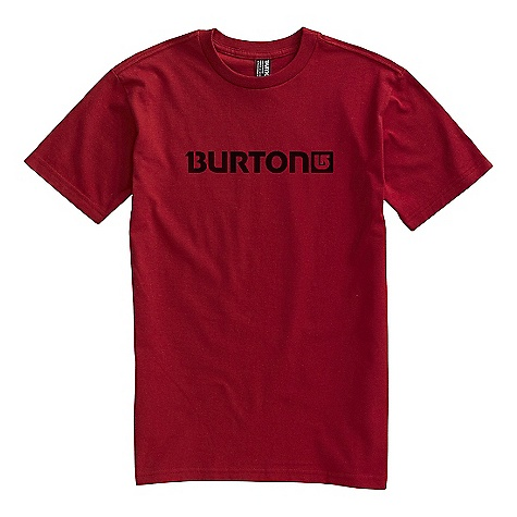 Snowboard On Sale. Burton Men's Logo Horziontal SS Tee DECENT FEATURES of the Burton Men's Logo Horziontal Short Sleeve Tee Regular fit This product can only be shipped within the United States. Please don't hate us. - $7.99