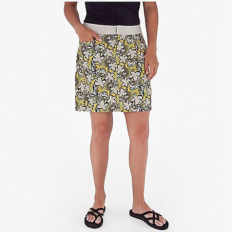 Entertainment Free Shipping. Royal Robbins Women's Splash Around Skirt DECENT FEATURES of the Royal Robbins Women's Splash Around Skirt Solid color waistband Snap front fly Mesh lined pockets The SPECS Regular fit 18in. skirt length Fabric: 2-Ply Nylon (print) 3 oz 100% Nylon UPF 30+ - $57.95