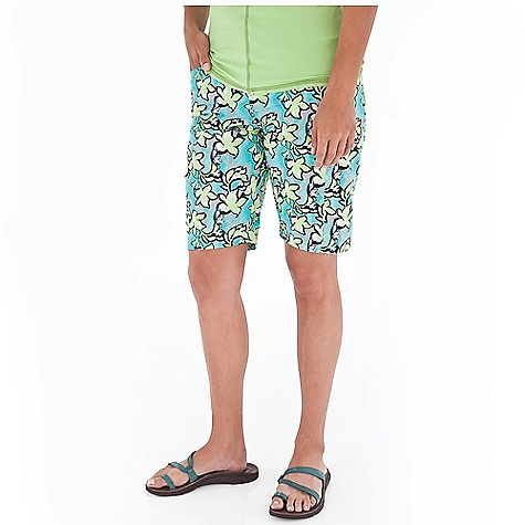 Entertainment Free Shipping. Royal Robbins Women's Splash Around Short DECENT FEATURES of the Royal Robbins Women's Splash Around Short Solid color waistband Snap front fly Mesh lined pockets The SPECS Regular fit Contemporary rise Inseam: 10in. Fabric: 2-Ply Nylon (print) 3 oz 100% Nylon UPF 30+ - $67.95