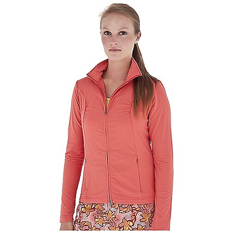 Entertainment On Sale. Free Shipping. Royal Robbins Women's Mountain Velvet Zip Front Jacket DECENT FEATURES of the Royal Robbins Women's Mountain Velvet Zip Front Jacket Ruching at princess seams Back seam with gathers The SPECS Regular fit Hip length Fabric: Mountain Velvet 6.5 oz 91% Nylon / 9% Spandex Garment washed UPF 50+ - $54.57