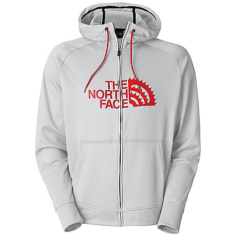 Free Shipping. The North Face Men's Chain Ring Hoodie DECENT FEATURES of The North Face Men's Chain Ring Hoodie Cinch hood Hand pockets THE SPECS Source: Imported Fabric: 210 g/m2 (6.2 oz/yd2) 100% polyester jersey face fleece This product can only be shipped within the United States. Please don't hate us. - $74.95