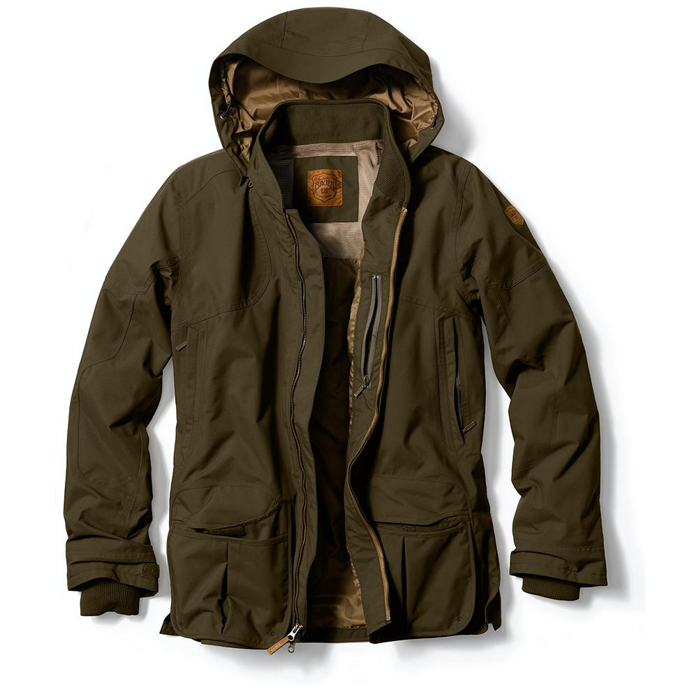 Entertainment Eddie Bauer Waterproof Shooting Jacket - If you spend a lot of time time at an outdoor range, you've probably shot your share of rounds in the rain. Desgned with just such a situation in mind, our shooting jacket is built with our waterproof, breathable, windproof - $199.00