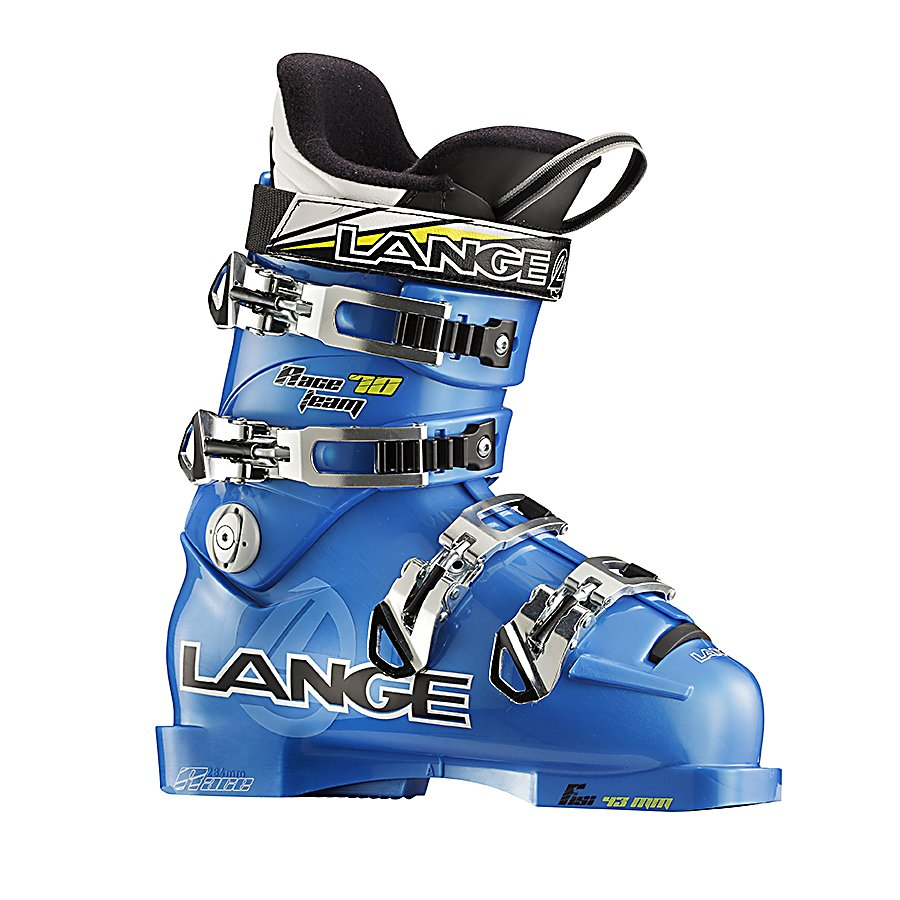 Ski Lange Race 70 Team Speed Junior Race Ski Boots - The Lange Race 70 Team Speed Junior Ski Boots is a part of the strongest junior offering Lange ever designed. The Race 70 Team Speed Junior is based off of the award-winning adult RS shell. The Control Fit Liner provides an accurate fit and immediate response as well as greater toe comfort. The Instep Pocket increases circulation and warmth to ensure your kid's feet stay nice and comfy. The boot's Natural Stance design compliments modern ski design by providing a neutral and upright stance resulting in more efficient power transfer on modern shaped and rockered skis and less quad fatigue ensuring they have the ability to tackle more lines. Mono-injection delivers the smoothest flex pattern for ultimate response feedback. The Lange Race 70 Team Speed Junior Ski Boots boasts high-performance, comfort and technology so your child can perform at their very peak. . Actual Flex: 70, Cuff Alignment: Single, Warranty: One Year, Gender: Kids, Special Features: Control Fit Liner, Ski Boot Width: Narrow (95-99mm), Special Features: Mono-Injection, Flex: Stiff, Race: Yes, Used: No, Ski/Walk: No, Prewired For Heat: No, Number of Micro Buckles: 4, Freestyle: No, Sidecountry: No, Forefoot Width: 97mm at Reference Size 25.5, Flex Adjustment: No, Buckle Count: 4, Buckle Material: Polyolefin, Category: Race, Ski Gear Intended Use: Race, Instep Height: Medium, Calf Volume: Medium, Skill Range: Advanced Intermediate - Expert, Model Year: 2012, Product ID: 307644, Shipping Restriction: This item - $149.93