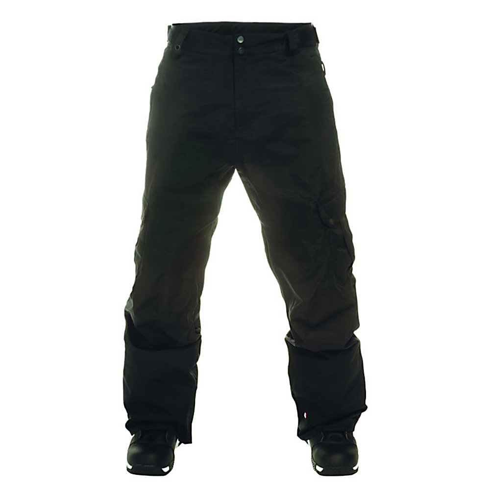 Snowboard Quiksilver Impulse Shell Mens Snowboard Pants - The Quiksilver Impulse Shell Pant are going to make you want try things you have never done before. With 10,000K of waterproofing and breathability these pants are ready to take on the world with you. Taffeta lining is going to keep your lower body warm and you decide to rip down the mountain. Zipper closed inside leg venting gives you the option to let some breeze into your life. Cargo pocket styling allow you to carry extra gear without feeling constricted. Cuff saver cinch system keeps your pants away from the bottom of your boot, making them last longer. The Quiksilver Impulse Shell Pant will make it happen just act on impulse. . Exterior Material: Polyester melange herringbone, Insulation Weight: N/A, Taped Seams: Critically Taped, Waterproof Rating: 10,000mm, Breathability Rating: 10,000g, Full Zip Sides: No, Thigh Zip Venting: Yes, Suspenders: None, Articulated Knee: No, Cargo Pockets: Yes, Warranty: One Year, Race: No, Waterproof: Moderately Waterproof (5000mm-19,999mm), Breathability: High Breathability (9000g-15,000g), Use: Snowboard, Type: Shell, Cut: Regular, Lining Material: Taffeta, Waist: Adjustable, Pockets: 3-4, Model Year: 2012, Product ID: 307403, Model Number: KKMSP094-BLK XS, GTIN: 0883356811045 - $79.99