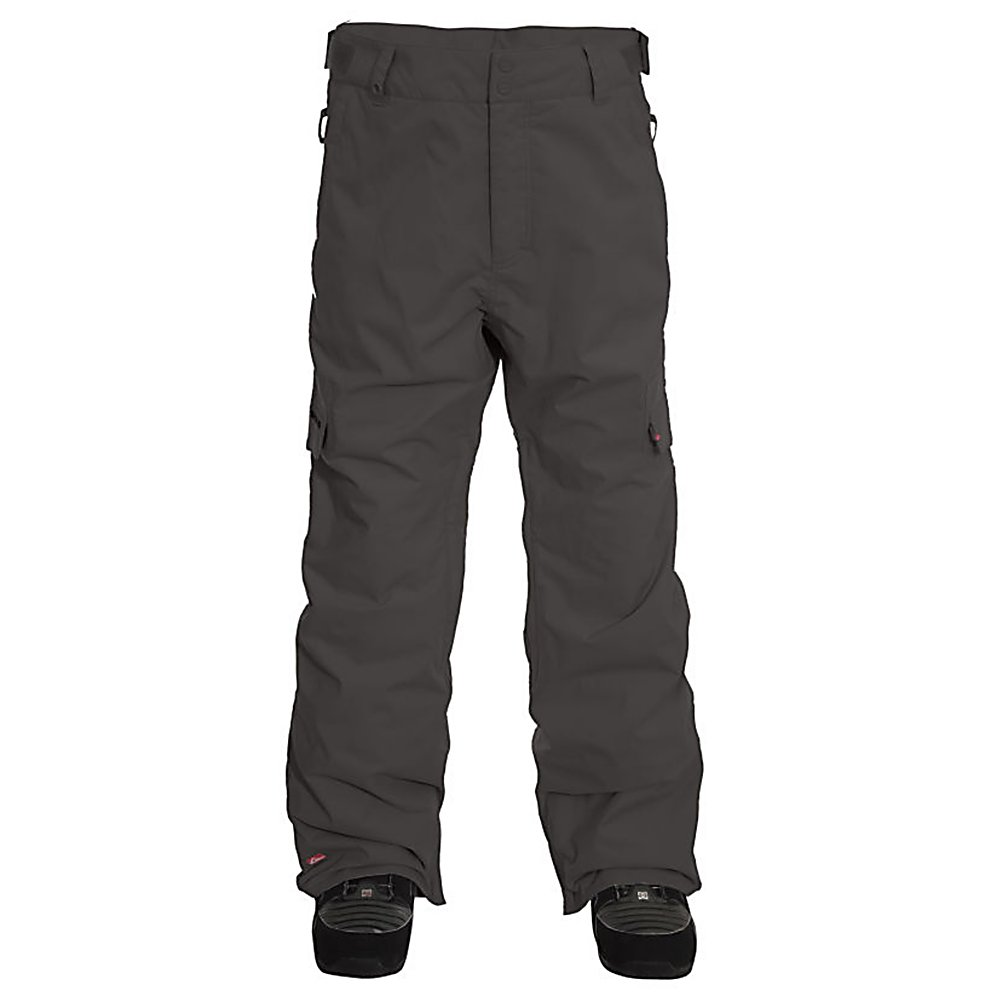 Snowboard Quiksilver Drill Insulated Mens Snowboard Pants - The Quiksilver Drill 5k Insulated Snowboard Pants will keep you feeling comfortable all day long on the mountain. This classic style boasts tons of features for convenience and comfort. You'll have 5k worth of breathability and waterproofness ensuring that you stay dry and protect you from the precipitation trying to seep in. On the inside there is a Taffeta Lining which is soft and cozy. With plenty of pocket for storage, you'll love the Quiksilver Drill 5k Insulated Snowboard Pants. Think of these pants like a comfortable, flexible version of your travel coffee mug, they are insulated to keep you warmer, longer. . Exterior Material: Polyester Twill, Insulation Weight: 40g, Taped Seams: Critically Taped, Waterproof Rating: 8,000mm, Breathability Rating: 5,000g, Full Zip Sides: No, Thigh Zip Venting: Yes, Suspenders: None, Articulated Knee: No, Cargo Pockets: Yes, Warranty: One Year, Race: No, Waterproof: Moderately Waterproof (5000mm-19,999mm), Breathability: Moderate Breathability (4000g-8999g), Use: Snowboard, Type: Insulated, Cut: Regular, Lining Material: Taffeta, Waist: Adjustable, Pockets: 3-4, Model Year: 2012, Product ID: 307544, Model Number: KKMSP224-ARM M, GTIN: 0883356811762 - $69.95
