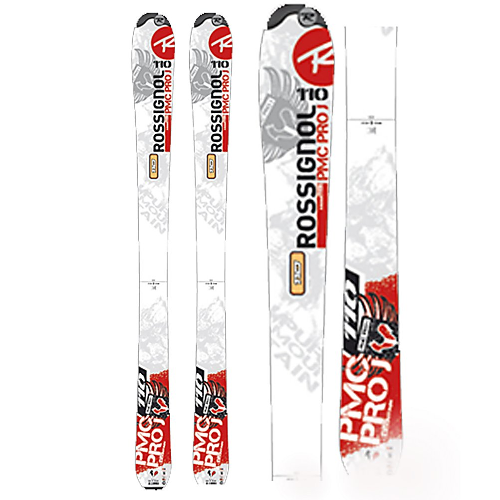 Ski Rossignol PMC Pro J Kids Skis - The PMC Pro J is a lightweight, easy-to-use introductory ski for beginners learning to pizza and french-fry. Featuring Rossitop cap construction with a composite fiberglass core for increased durability and ease-of-use, and progressive, size-appropriate flexes. The PMC Pro J is designed to help junior skiers develop solid basics and encourage them to experience the thrill of winter and skiing. . Tip/Waist/Tail Widths: 95/75/80mm(@67cm), Actual Turn Radius @ Specified Length: 8m(@67cm), Warranty: One Year, Type: Frontside Skis ( - $79.90