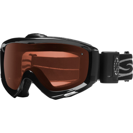 Ski A polarized lens highlights the natural terrain with unmatched clarity but, if becomes too foggy, it's useless. That's why the Smith Phenom Turbo Fan Polarized Goggle features a two-speed micro-fan on top of the flexible frame: to send the warm air your body (or a storm) creates out and circulate fresh, cool air in. The result is a clear view of the skin track above you, the safe route through a glacier, and the landing zone below a cliff. - $149.37
