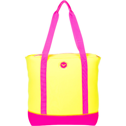 Surf After a week of working hard, pack your car up, grab the Roxy Women's Chillax Tote, and head down to the shore for some quality you time. - $40.80