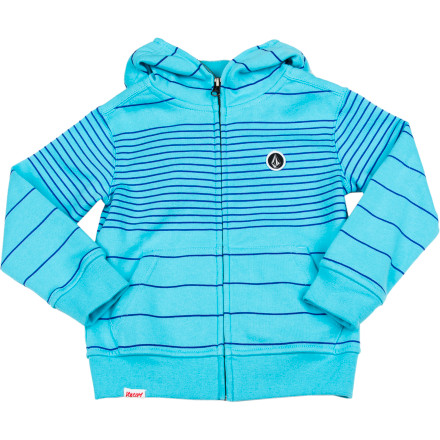 Surf Volcom Fuzzy Fleece Full-Zip Hoodie - Toddler Boys' - $48.71