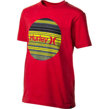 Surf Hurley Krush Boardie T-Shirt - Short-Sleeve - Boys' - $14.27