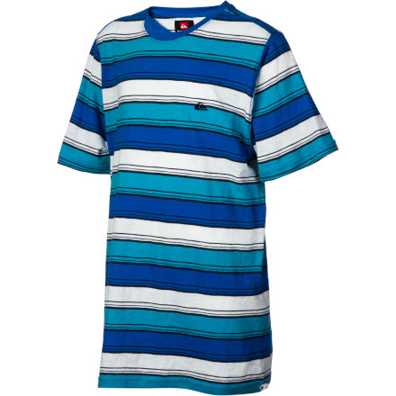 Surf Quiksilver Down Side T-Shirt - Short-Sleeve - Boys' - $19.18