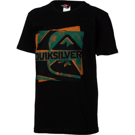 Surf Quiksilver Hide And Seek Heat Sensitive Ink T-Shirt - Short-Sleeve - Boys' - $14.63