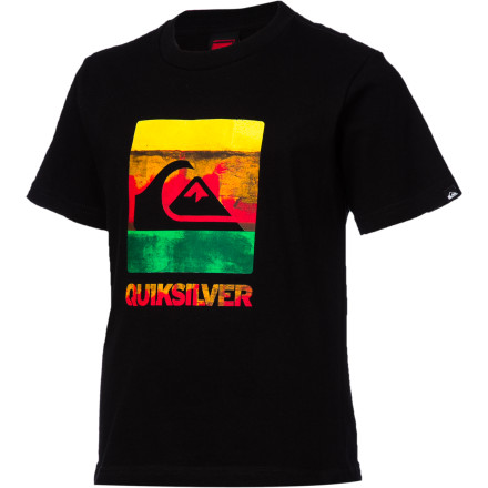 Surf Quiksilver Chaos T-Shirt - Short-Sleeve - Little Boys' - $12.80