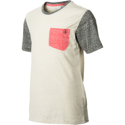Surf Volcom Tempest Crew - Short-Sleeve - Boys' - $22.91