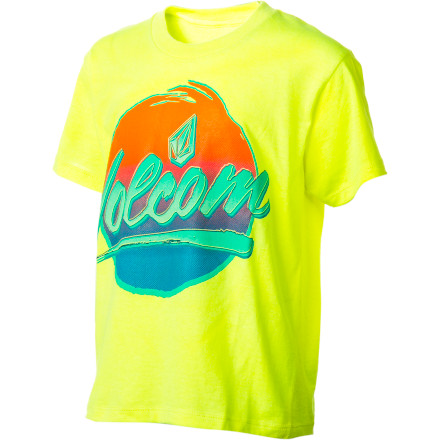 Surf Volcom Chray T-Shirt - Short-Sleeve - Boys' - $14.36