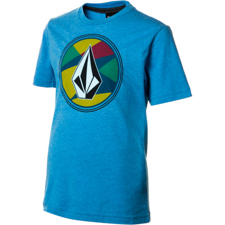 Surf Volcom Stained Stone T-Shirt - Short-Sleeve - Boys' - $16.46