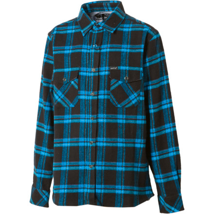 We're not saying Mike Mo Capaldi's signature Matix Mojo Flannel Shirt is an instant status boost or anythingbut the last time we wore it, we had to fend off hordes of supermodels with a short length of re-bar. Your mileage may vary, of course. - $21.58