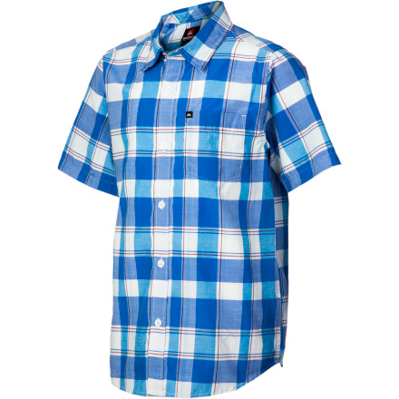 Surf Quiksilver El Pat Shirt - Short-Sleeve - Boys' - $29.63
